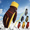 cheap Binoculars, Monoculars & Telescopes-Winter Gloves Men's Women's Full-finger Gloves Keep Warm Windproof Breathable Motor Bike Mix Recreational Cycling Hiking Outdoor Exercise