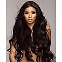 cheap Human Hair Wigs-Remy Human Hair Lace Front Wig Brazilian Hair Water Wave Wig Deep Parting 130% 150% 180% Density with Baby Hair Natural Best Quality Hot Sale Thick Natural Women's Very Long Human Hair Lace Wig