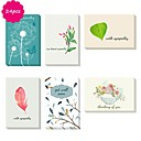 cheap Wedding Invitations-Side Fold Wedding Invitations 24 - Thank You Cards Artistic Style Pure Paper