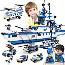 cheap Magnet Toys-SHIBIAO Building Blocks Military Blocks 1230 pcs Nautical Military Warship DIY Contemporary Classic Classic & Timeless Boat Aircraft Carrier Boys' Girls' Toy Gift