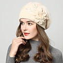 cheap Party Headpieces-Wool Hats with Floral 1 Piece Wedding / Daily Wear Headpiece