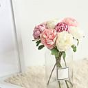 זול פרחים מלאכותיים-פרחים מלאכותיים 1 ענף קלאסי חתונה פרחי חתונה Camellia פרחים לשולחן