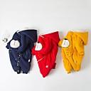 billige Sett med Gutter babyklær-Baby Gutt Aktiv / Grunnleggende Daglig Svart & Rød Lapper Strikking / Lapper Langermet Bomull Endelt Blå