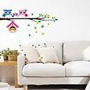 billige Vægklistermærker-Dekorative Mur Klistermærker - Fly vægklistermærker / Animal Wall Stickers Landskab Soveværelse / Børneværelse