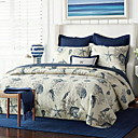 cheap Quilts & Coverlets-Comfortable - Two Shams / 1pc Comforter Autumn / Fall / Winter Cotton Geometric