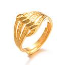 Χαμηλού Κόστους Μοδάτο Δαχτυλίδι-Γυναικεία Κλασσικό Δαχτυλίδι Ρυθμιζόμενο δαχτυλίδι Επιχρυσωμένο κυρίες Πολυτέλεια Υπερβολή Μοντέρνα Μοδάτο Δαχτυλίδι Κοσμήματα Χρυσό Για Γάμου Δώρο