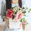 olcso Művirág-Művirágok 1 Ág Klasszikus Stílusos / Esküvői virágok Bazsarózsák / Növények Asztali virág