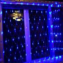 tanie Taśmy świetlne LED-brelong osiem funkcji dekoracja zewnętrzna wodoodporna europejska sieć rybacka 1 szt
