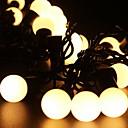 billige LED-stringlys-5 m Lysslynger 40 LED Varm hvit Dekorativ 220-240 V 1set