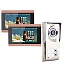 cheap Shower Faucets-7inch Record wireless Wifi 2 Apartments Video Door Phone Intercom System IR-CUT HD 1000TVL Camera Doorbell Camera