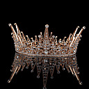 preiswerte Haarschmuck-Aleación Tiaras mit Kristall 1 Stück Hochzeit / Freizeitskleidung Kopfschmuck