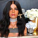 halpa Aitohiusperuukit verkolla-Remy-hius Lace Front Peruukki tyyli Brasilialainen Laineita Musta Peruukki 130% 150% 180% Hiusten tiheys ja vauvan hiukset Naisten kuuma Myynti 100% Neitsyt jalostamattomia Musta Naisten Keskikokoinen
