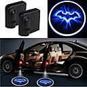 voordelige LED-stripverlichting-2 stks draadloze auto deur led laser projector schaduw licht auto-styling auto-interieur lamp licht
