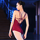 povoljno Odjeća za balet-Balet Leotards Žene Trening / Seksi blagdanski kostimi Elastan / Likra Križano Bez rukávů Hula-hopke / Onesie