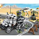 olcso Building Blocks-Építőkockák 400-800 pcs Katonai Truck tettetés Tehergépkocsi Katonai járművek Összes Játékok Ajándék