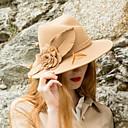 cheap Party Headpieces-Elizabeth The Marvelous Mrs. Maisel Women's Adults' Ladies Retro / Vintage Kentucky Derby Hat Hat Blue Light Camel Flower Headwear Lolita Accessories