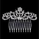 hesapli Saç Mücevheri-Kadın's Moda İmitasyon İnci Yapay Elmas alaşım Saç Tarakları Çiçekli / Leaf Shape