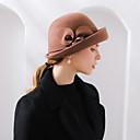 abordables Chapeau & coiffure-100% Laine Fleurs / Chapeaux / Coiffure avec Bonnet / Fleur / Ornement 1 Fête / Soirée Casque
