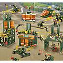 povoljno Building Blocks-Kocke za slaganje Građevinski set igračke Poučna igračka 100-200 pcs Vojni Tenk Helikopter kompatibilan Legoing simuliranje Vojno vozilo Tenk Helikopter Sve Dječaci Djevojčice Igračke za kućne