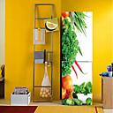 billige Veggklistremerker-Køleskabs klistermærker - 3D Mur Klistremerker Abstrakt / Landskap Kjøkken / Spisestue