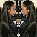 זול ריסים מלאכותיים-שיער בתולי שיער אנושי חזית תחרה פאה שיער פרואני ישר משיי פאה 130% 150% צפיפות שיער עם שיער בייבי לנשים שחורות בתולה100% לא מעובד ללא שם: עם קשרים בליצ ' טבעי בגדי ריקוד נשים קצר ארוך חצי אורך