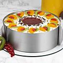 preiswerte Backformen-Edelstahl-Mousse-Kuchen-Kreis jede Kreisform 6-Zoll- und 12-Zoll-Backwerkzeuge können eingestellt werden