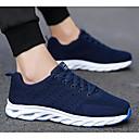 cheap Men's Athletic Shoes-Men's Comfort Shoes Tissage Volant Summer Athletic Shoes Running Shoes Black / Orange / Blue