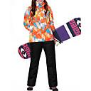 tanie Odzież narciarska i snowboardowa-MARSNOW® Damskie Kurtka i spodnie narciarskie Wodoodporny Odporność na wiatr Ciepłe Sporty zimowe 100% bawełna chenille Zestawy odzieży Odzież narciarska / Zima