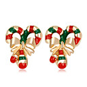 povoljno Naušnice-Žene Naušnica Klasičan dame Moda Naušnice Jewelry Duga Za Božić Dnevno 1 par