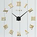 זול שעוני קיר-סגנון מודרני פלסטי עגול בבית