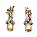 cheap Party Headpieces-Women's Chandelier Drop Earrings Imitation Diamond Earrings Trendy Sweet Jewelry Brass For Street Going out 1 Pair