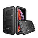 billige iPhone-etuier-taske til iPhone xr xs xs maks vandtæt / stødtæt / støvtæt solid farvet hårdt silikone / metal til iphone x 8 8 plus 7 7plus 6s 6s plus se 5 5s