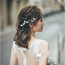 preiswerte Parykopfbedeckungen-Aleación Haarklammer mit Blume 3 Stück Hochzeit / Besondere Anlässe Kopfschmuck