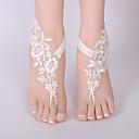 זול ביריות לחתונה-תחרה צמיד קרסול / חתונה בירית חתונה עם חרוזים ביריות חתונה / Party
