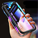 cheap iPhone Cases-Case For iPhone XR XS XS Max Shockproof Transparent Magnetic Cases Solid Colored Hard Tempered Glass for iPhone X 8 8 Plus 7 7plus 6s 6s Plus SE 5 5S