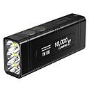 baratos Ferramentas de pesca-Nitecore TM10K Lanternas de Mão LED LED Emissores 1 Modo Iluminação Com Pilhas e Carregador Legal Uso Diário