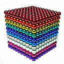 cheap Décor Lights-1000 pcs 3mm Magnet Toy Magnetic Balls Building Blocks Super Strong Rare-Earth Magnets Neodymium Magnet Neodymium Magnet Stress and Anxiety Relief Office Desk Toys DIY Kid's / Adults' / Children's