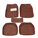 cheap Steering Wheel Covers-Universal Car Floor Mat Front And Rear Carpet Auto Mat All Weather Waterproof