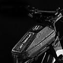 abordables Bolsas para Cuadro de Bici-Wheel up 1 L Bolsa para Cuadro de Bici Portátil Listo para vestir Fácil de Instalar Bolsa para Bicicleta PU EVA Bolsa para Bicicleta Bolsa de Ciclismo Ciclismo Ejercicio al Aire Libre Trail