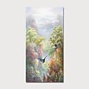baratos Pinturas Florais/Botânicas-Pintura a Óleo Pintados à mão - Paisagem Floral / Botânico Modern Incluir moldura interna