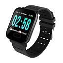 preiswerte Smartuhren-A6 Smartwatch Android iOS Bluetooth Smart Sport Wasserfest Herzschlagmonitor Schrittzähler Schlaf-Tracker Sedentary Erinnerung Chronograph Kalender
