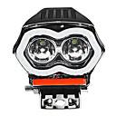 billige Lommelykter & campinglykter-20w 12 / 80v ip68 2000lm ledet motorsykkel angel eyes usb headlight spotlight