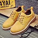 baratos Oxfords Masculinos-Homens Sapatos Confortáveis Couro Ecológico Primavera & Outono Oxfords Preto / Marron / Camel
