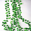 זול פרח מלאכותי-פרחים מלאכותיים 1 ענף להתקנה על הקיר מוּשׁהֶה חתונה פסטורלי סגנון צמחים פרחים לקיר
