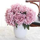 abordables Fleur artificielles-Fleurs artificielles 5 Une succursale Classique Fleurs de mariage style pastoral Pivoines Fleur de Table