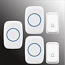 povoljno Zvono na ulaznim vratima-Bez žice Dva do tri vrata Glazba / Ding Dong Non-visual doorbell Montirano na površini