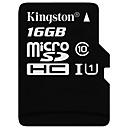 Недорогие Микро SD карты TF-Kingston 16 Гб Карточка TF Micro SD карты карта памяти Class10