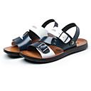 halpa Miesten sandaalit-Miesten Comfort-kengät Mikrokuitu Kesä Sandaalit Valkoinen / sininen