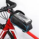 cheap Bike Frame Bags-WEST BIKING® Bike Frame Bag 6 inch Cycling for iPhone 8/7/6S/6 Orange