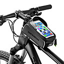 cheap Bike Frame Bags-ROCKBROS Cell Phone Bag / Bike Frame Bag 6 inch Waterproof, Portable Cycling for iPhone X / iPhone XR / iPhone XS Black